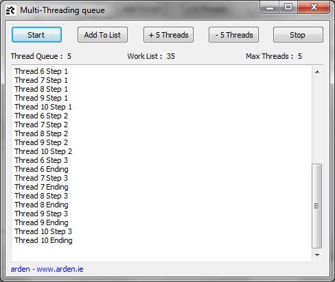 Multi-Threading queue